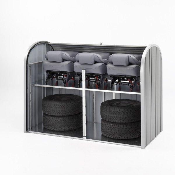 Storemax pratico contenitore da esterno di qualit e design for Contenitori da giardino