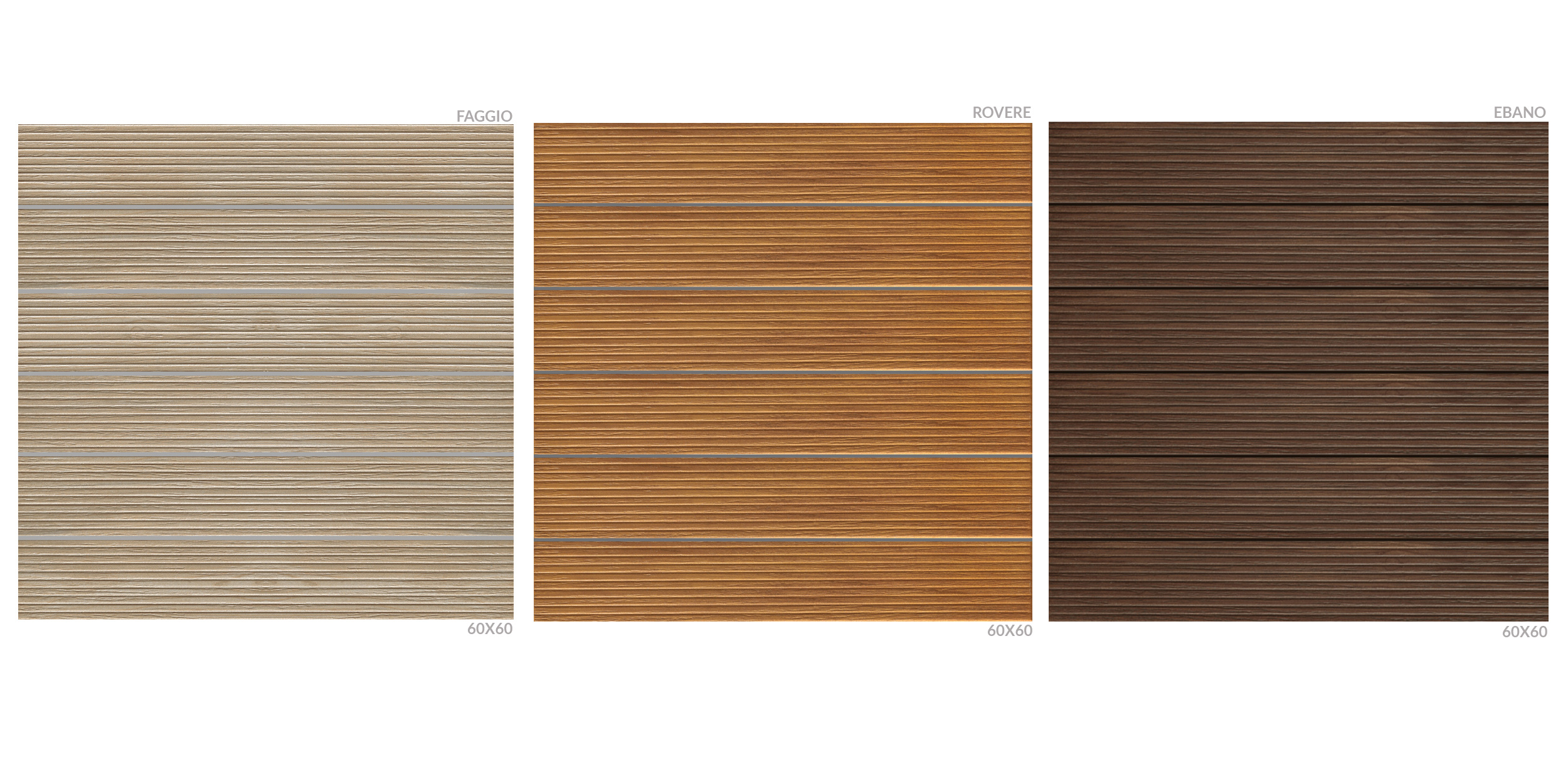 Finitura doghe legno scanalate - linea kronos - il calore del legno ...