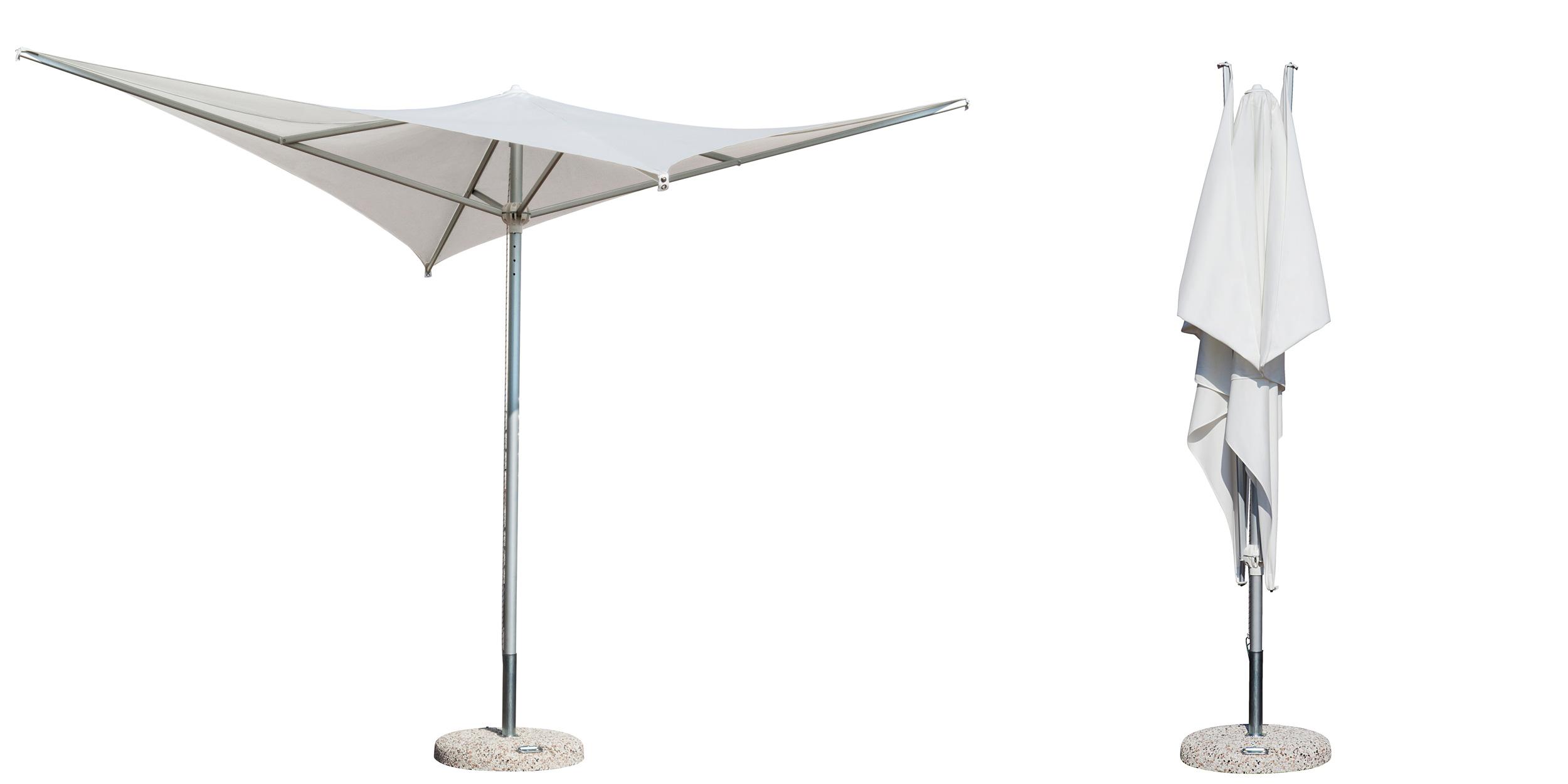 Ombrelloni Da Giardino Mantova.Alluminio Vela Design Architettonico E Sinuoso