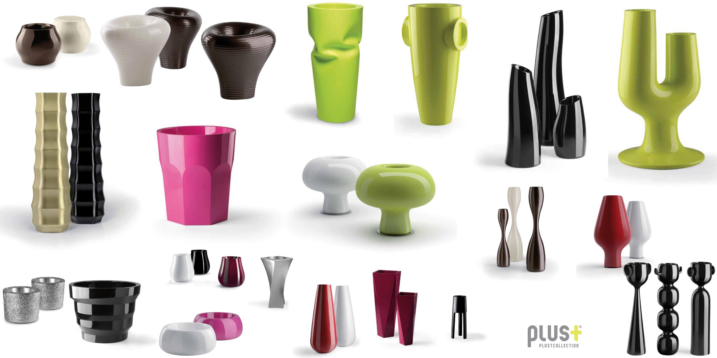 Linea pots semplici contenitori trasformati in oggetti for Oggetti arredo design
