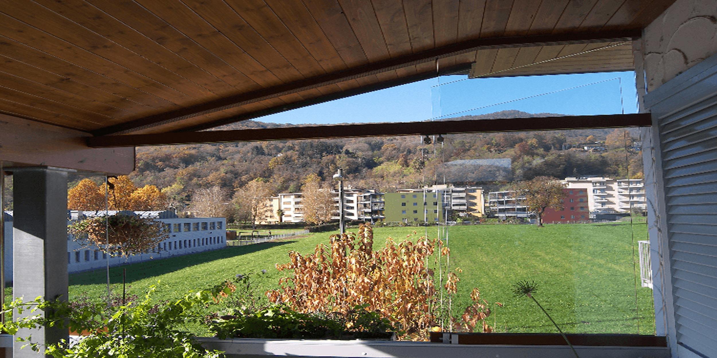 Vendita vetrate panoramiche scorrevoli per verande dehor - Verande su terrazzi ...
