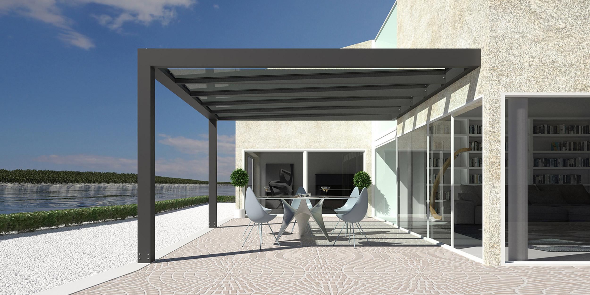 Vendita serre solari, verande vetrate, giardini d\'inverno, winter ...