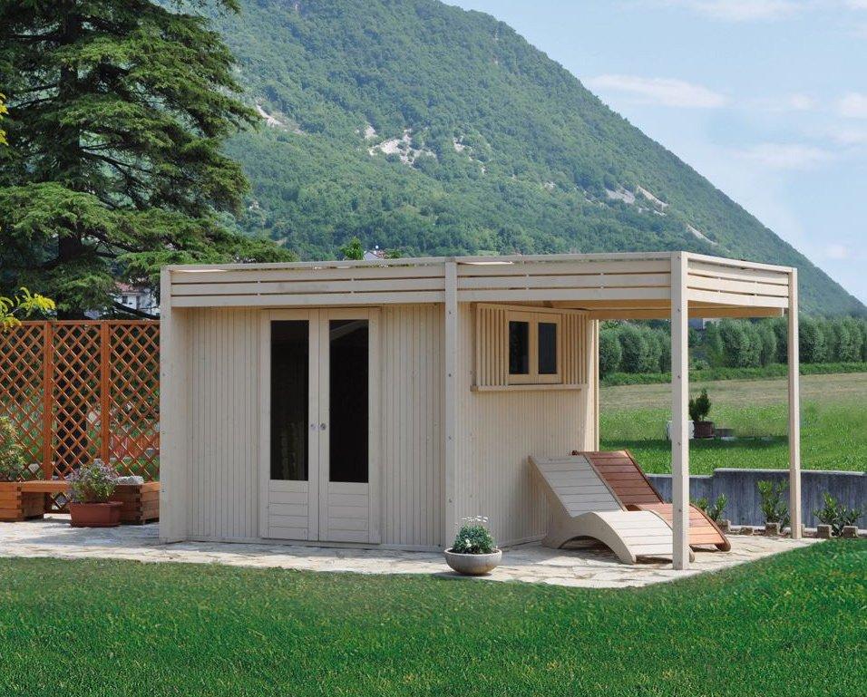 Casette Da Giardino In Alluminio : Casetta in legno moderna materiali e cura coniugati ad un design