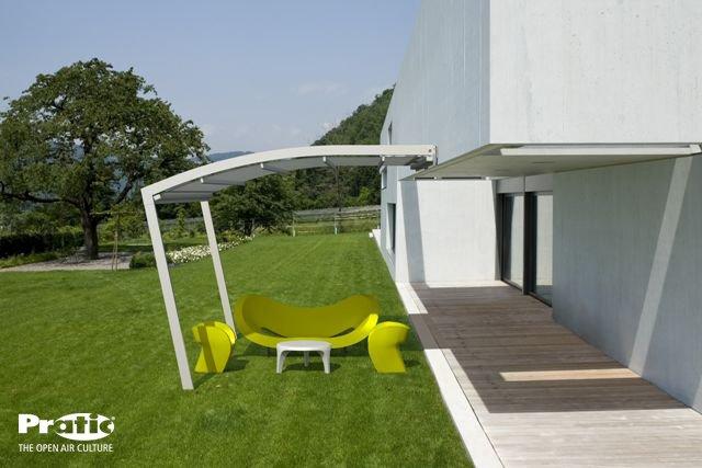Pergolati Da Giardino In Alluminio : Pergola ram pergola di pratic in alluminio con linea originale e