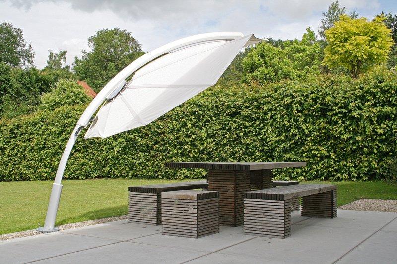 Icarus ispirato dalla natura e protezione da sole e vento - Sonnenschutz garten ...