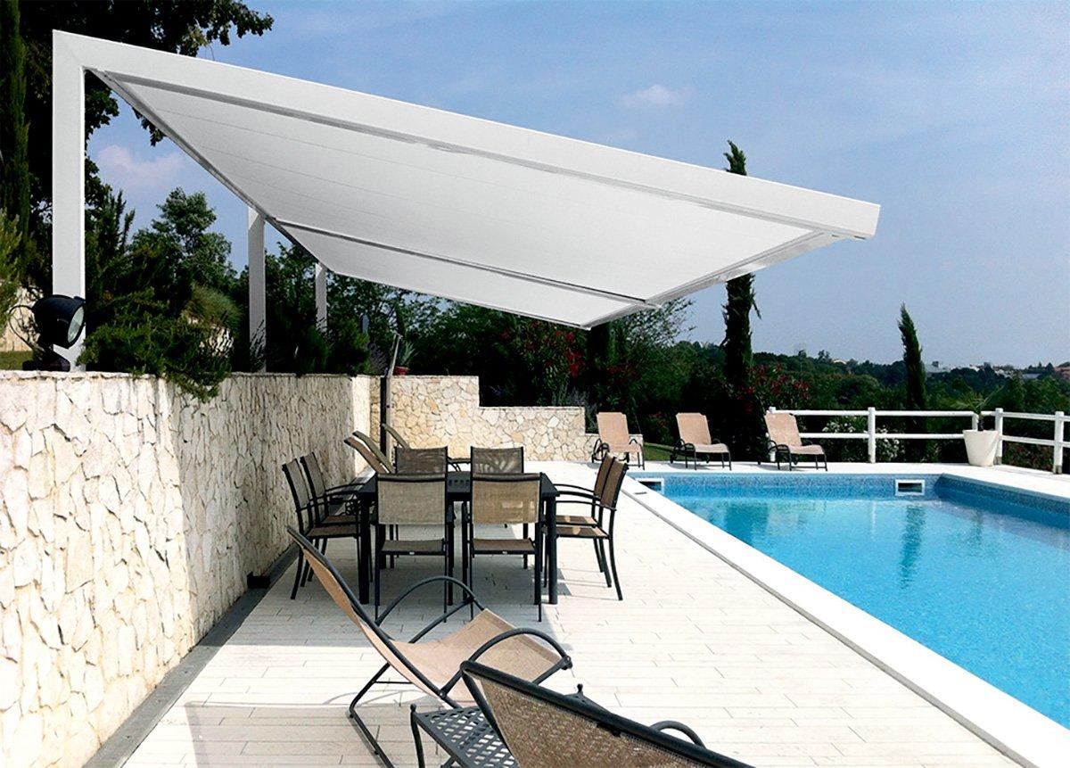 T30 Sistema Orizzontale Per Protezione Da Sole Vento Pioggia
