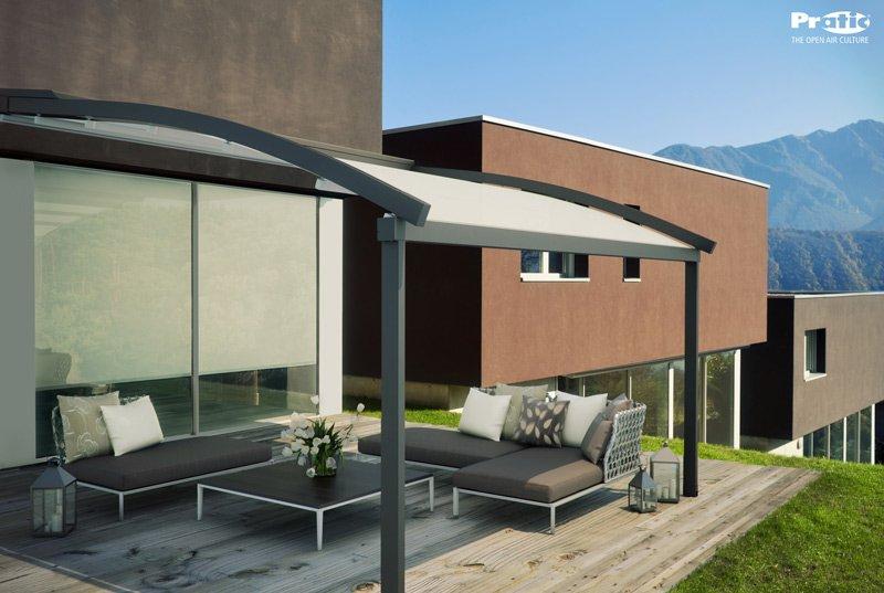pergola ram pergola di pratic in alluminio con linea. Black Bedroom Furniture Sets. Home Design Ideas