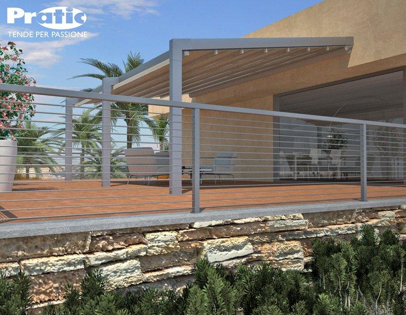 pergola evo pergola apribile con robusta struttura in. Black Bedroom Furniture Sets. Home Design Ideas