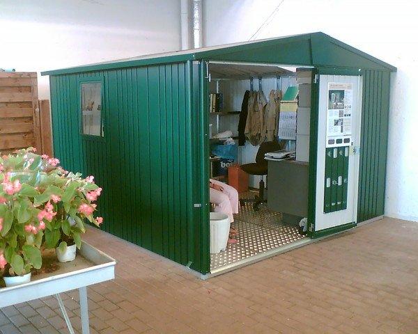 Casetta europa casetta per attrezzi robusta e dotata di numerosi accessori - Casette da giardino in alluminio ...