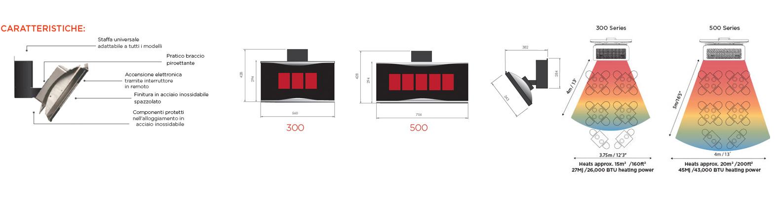 Vendita riscaldatori gas esterno per dehor verande bar - Riscaldatori per esterno a gas ...